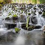 Small Cascade In Marlay Park Poster