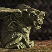 Small Gargoyle Or Grotesque Poster