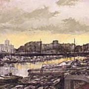 Small-port Santander Poster