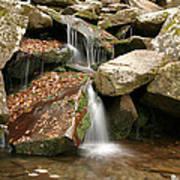 Small Rock Falls Poster