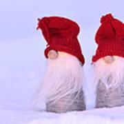 Small Santa Claus Poster