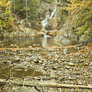 Smalls Falls In Autumn Western Maine Poster
