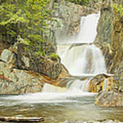 Smalls Falls In Western Maine Panorama Poster