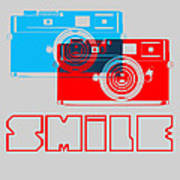 Smile Camera Poster Poster