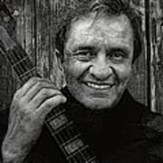 Smiling Johnny Cash Poster