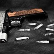 Smith And Wesson 1911sc Still Life Poster