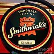 Smithwick Sign Poster