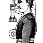 Smoke Hood, 1880s Poster