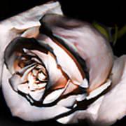 Smoked Rose Poster