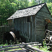 Smoky Mountain Grist Mill Poster