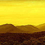 Smoky Mountain Glow Poster