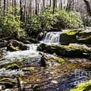 Smoky Mountain Waterfalls Poster