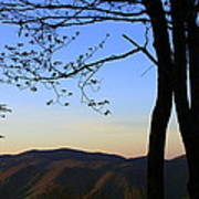 Smoky Mountains At Dusk Poster