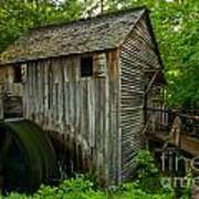 Smoky Mountains Grist Mill Poster
