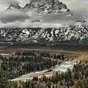 Snake River - Tetons Poster