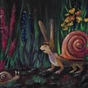 Snellius Fluffius Poster