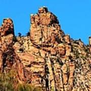 Snoopy Rock - Sabino Canyon Tucson Arizona  Poster