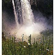 Snoqualmie Falls Wa. Poster