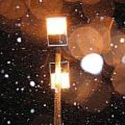 Snow At Night - 1779 Poster