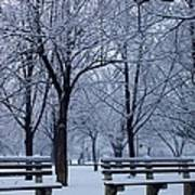 Snow Day Poster by Richie Stewart