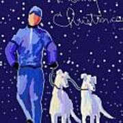 Snow Greys Poster