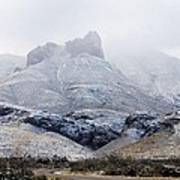 Snow In Big Bend Poster