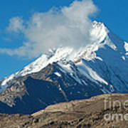 Snow Mountain Poster