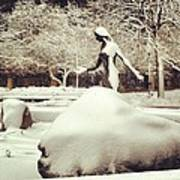 Snow Woman Poster