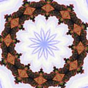 Snow Wreath Poster