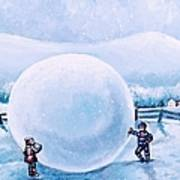 Snowball Fight Poster