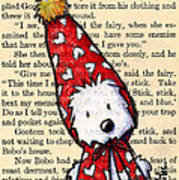 Snowbunny Westie Poster