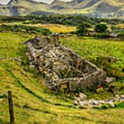 Snowdon Ruin Poster