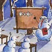 Snowman University Poster