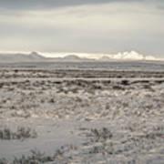 Snowy Landscape Poster