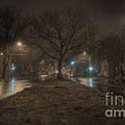 Snowy Nights Poster