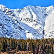 Snowy Ridge Poster