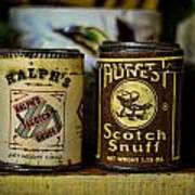 Snuff Tins Poster