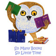 So Many Books So Little Time Poster