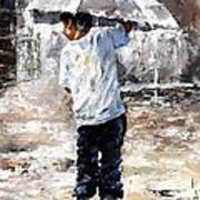 Soaked Poster by Emerico Imre Toth