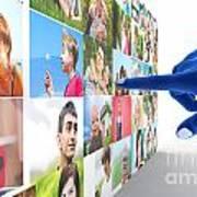 Social Media Network Poster
