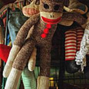 Sock Monkey Poster