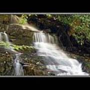 Soco Falls Small Cascade North Carolina Poster