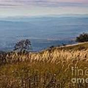 Sofia Valley From Vitosha Mountain October Early Twilight Poster
