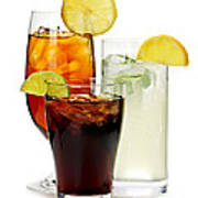 Soft Drinks Poster