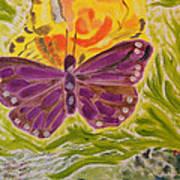 Soft Flutters Poster