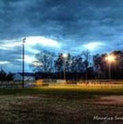 Softball Night At Matthews Elementary School Poster