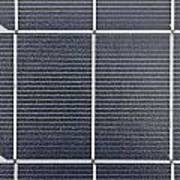 Solar Panel Collector Closeup View Poster