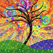 Solar Tree Poster