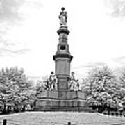 Soldier's Monument - Gettysburg - Irbw Poster