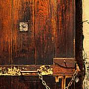 Solitary Confinement Door Poster